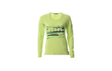 ION Electra Logo Bike Tee LS Women sharp green